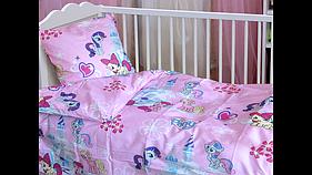 Детский постельный комплект Little Pony