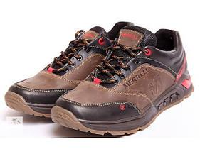 Мужские кожаные кроссовки реплика Merrell