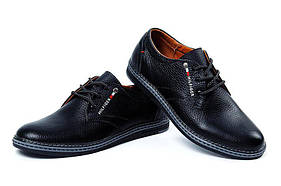 Мужские кожаные туфли реплика Tommy Hilfiger