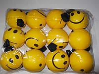 Мячик йо-йо смайлики  большой размер