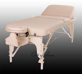 Складной Массажный стол-кушетка для массажа переносная регулируемая по высоте HAN Стол для массажа 3 секции