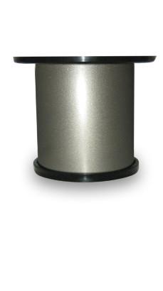 Мебельная ножка регулируемая высота 50 мм D50, цвет сатин