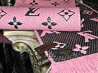 Шарф Louis Vuitton розовый