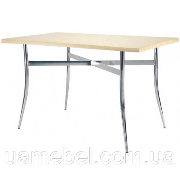 Обеденный стол Tracy (Трейси) Duo chrome/alu