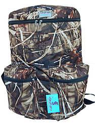 Рюкзак для рыбалки Sky Fish большой 60л Камыш