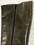 Высокие кожаные сапоги 41 р, фото 2