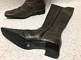 Высокие кожаные сапоги 41 р, фото 7