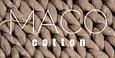 Набор ковриков для ванной комнаты с кружевами Maco vals pudra. Турция, фото 2