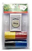Покерный набор в блистере (колода карт,136 фишек)(25,5х15,5х4 см)(pcp2150)