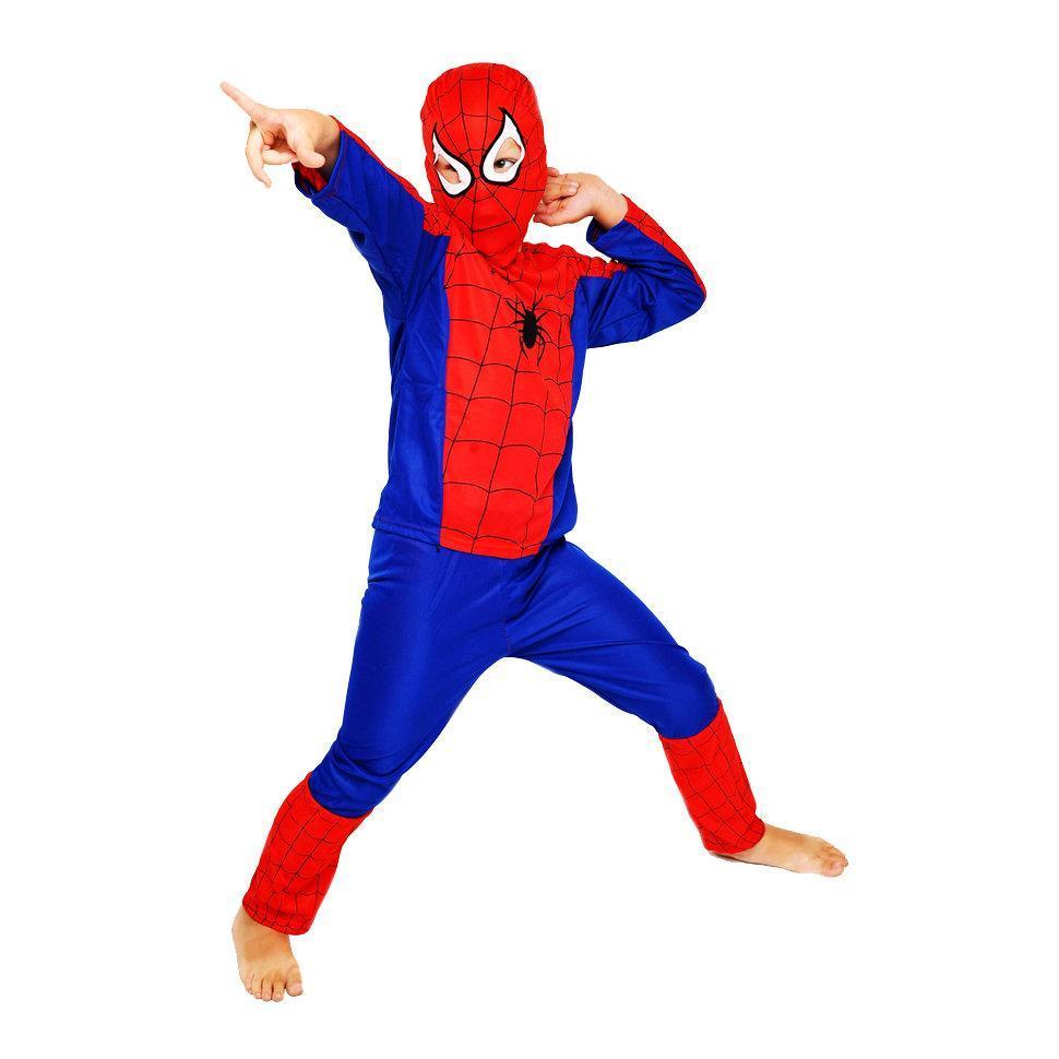 Карнавальный костюм Человека Паука, Спайдер Мен, Spider Man новогодний костюм супер героя