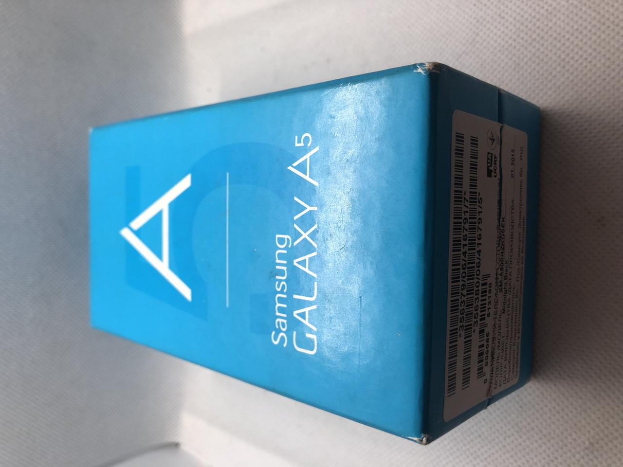 Мобильный телефон Samsung Galaxy A5 A500H/DS Black 52ВР