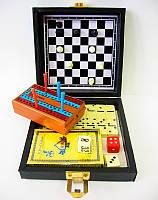 Игровой набор дорожный 6 в 1(13,5х13,5х4,3 см)