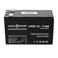 Аккумулятор свинцово-кислотный LogicPower AGM LPM 12 - 7.0 AH