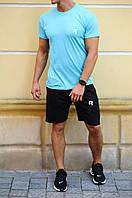 Комплект шорты и футболка Reebok (Рибок) / Мужские спортивные шорты, майки