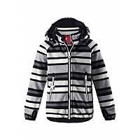 Черная куртка унисекс Windfleece Reima Vuoksi 521518-9991