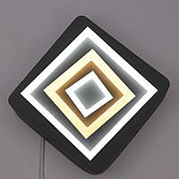 Светильник потолочный LED (5х24х24 см.) Матовый серый YR-8666B-gr