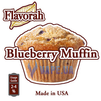 Flavorah - Blueberry Muffin (Черничный маффин)