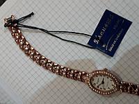 Часы Планета ПМ0236К серебристые женские овальные на браслете кварцевый механизм Япония