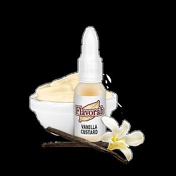 Flavorah - Vanilla Custard (Ванильный крем)