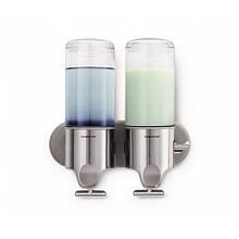 Дозатор жидкого мыла двойной 2*0,444 л Simplehuman (Великобритания)