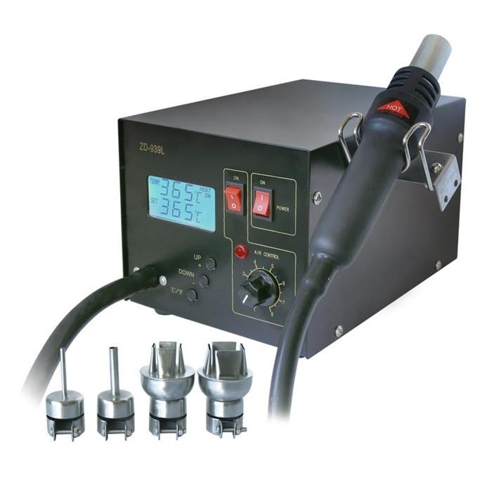 Термовоздушная паяльная станция ZD-939L (150-500ºC)
