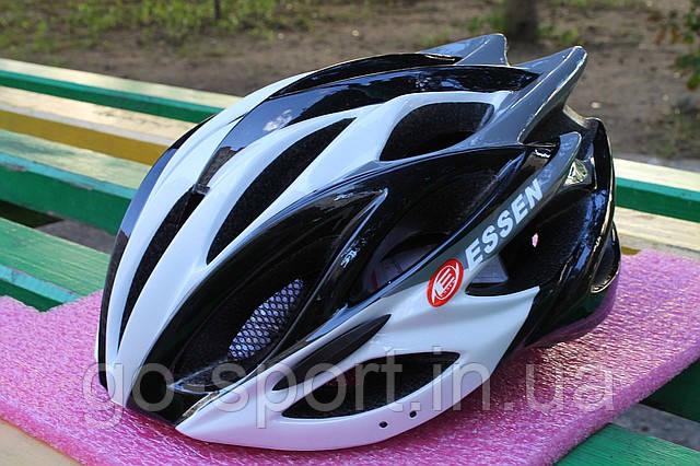 Шлем велосипедный Essen black, фото 1
