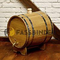 Дубовая бочка (жбан) для алкоголя Fassbinder™ 25 литров