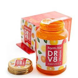 Сироватка з вітамінами FarmStay DR-V8 Vitamin ampoule