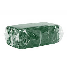 Серветки столові для розміщення приладів зелені, 18 аркушів, 334х400 мм