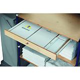 Ящик деревянный с замком для гостиничных тележек TTS (Италия), фото 2