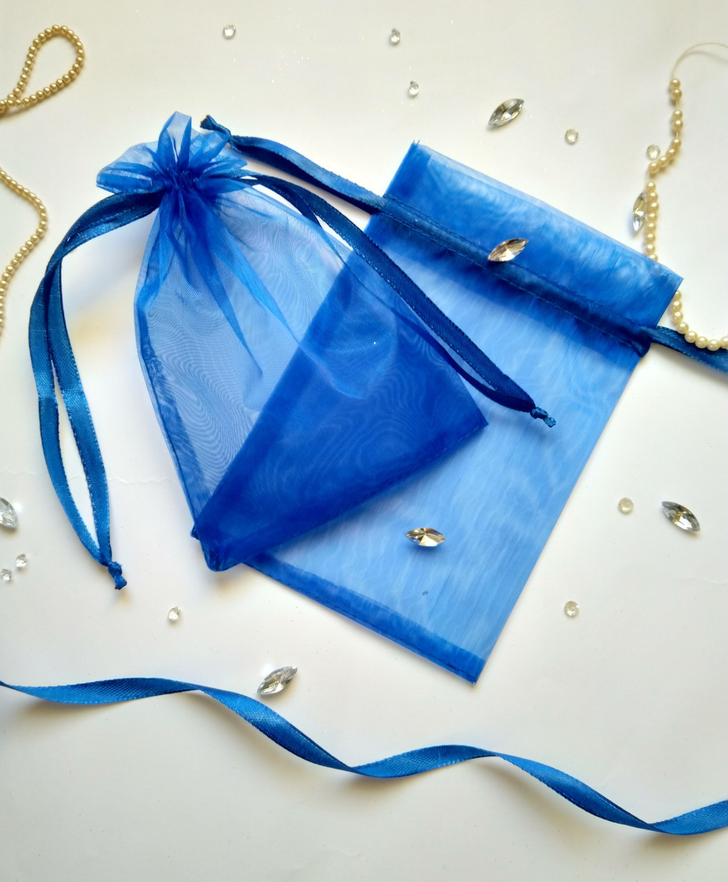 Подарунковий мішечок з органзи 13 х 17 см (Мішечок для упаковки подарунка, упаковка подарунків)
