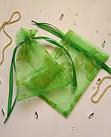 Подарочный мешочек из органзы  13 х 17 см (мешочек для упаковки, тканевая упаковка, мішечки), фото 1