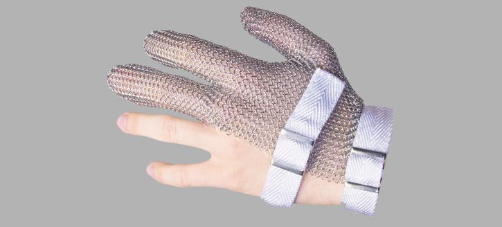 Кольчужная трехпалая перчатка XS правая Niroflex  Friedrich Muench (Германия) 0311000000 в Киеве