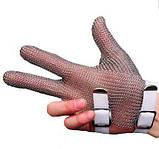 Кольчужна трипала рукавичка XL Niroflex Friedrich Muench (Німеччина) 0311400000 в Києві, фото 2