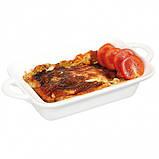 Блюдо прямокутне з фарфору (185x260x(H)55).Hendi, фото 2