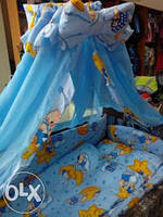 """Детское постельное белье """"Мишки на звездочке"""", комплект 8 предметов"""