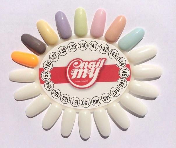 Торговая марка My Nail расширяет палитру гель-лаков и радует нас новыми оттенками!