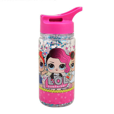 "Бутылка для воды YES с блестками ""LOL Juicy"", 280мл                                       , фото 2"