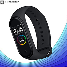 Фітнес браслет Smart Watch M4 - фітнес трекер, смарт браслет, пульсометр Чорний (репліка), фото 2