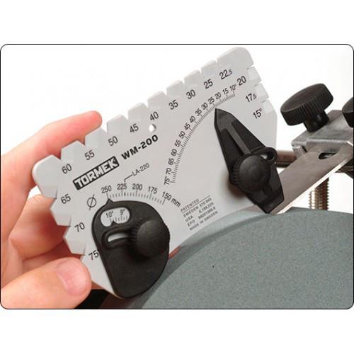 Универсальный угломер для точного выставления углов затачиваемого инструмента. Tormek (Швеция)
