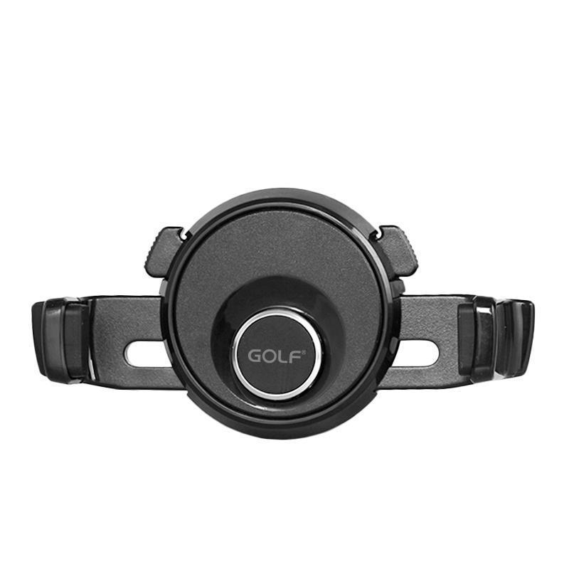 Держатель Golf GF-CH06 Black (Крепление вентеляционная решетка)