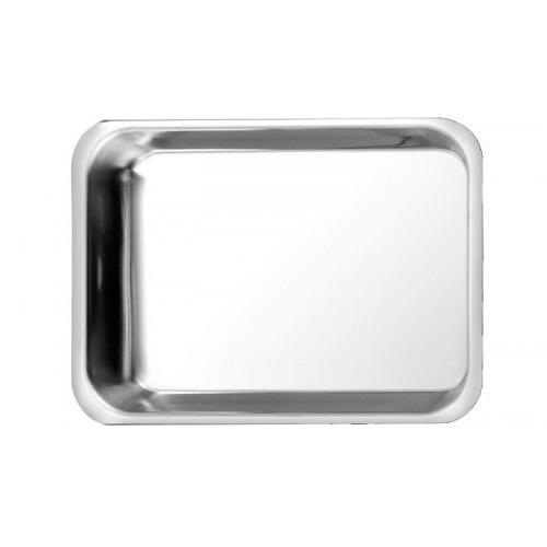 Гастроемкость плоская из полированной нержавеющей стали (42.5 х 31 х 4 см) 4.4 л.Stellinox (Франция)