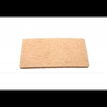 Губка для пола мягкий ворс(250 х 120 х 25 мм) 100°С