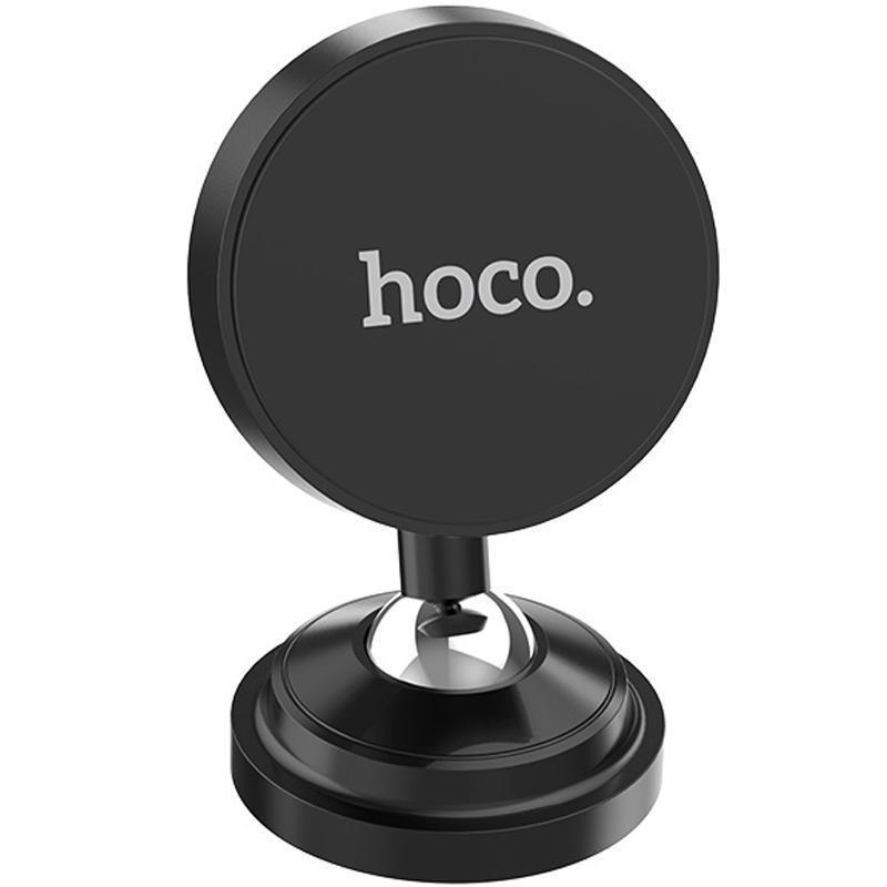 Держатель Hoco CA36 Black (Magnetic) (Крепление присоска)