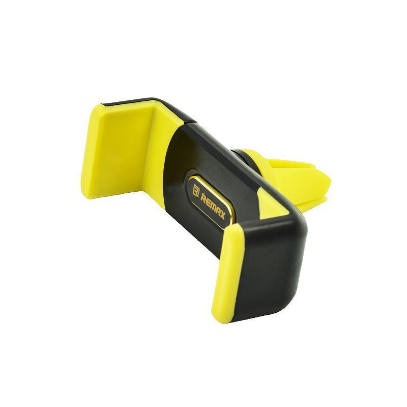 Держатель  Remax оригинал RM-C01 Black/Yellow (Крепление вентеляционная решетка)