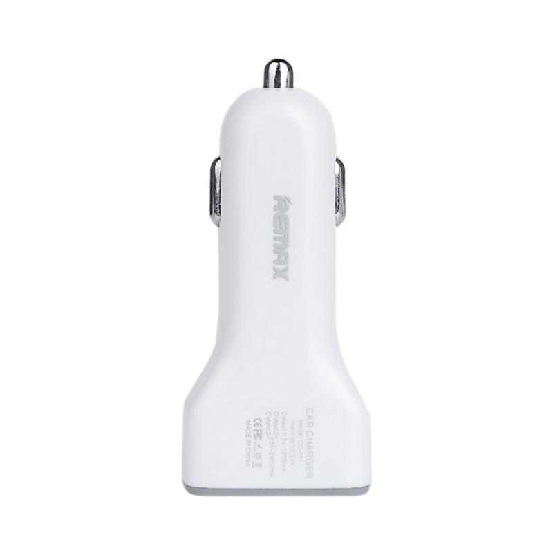 Зарядка автомобильная Remax оригинал 3USB 3.6A White (RCC301)