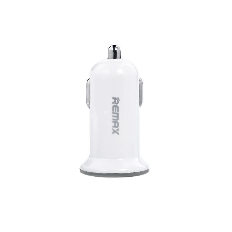Зарядка автомобильная Remax оригинал 2USB 2.1A White (RCC201 Mini)