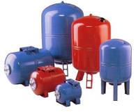 Универсальный расширительный бак вертикальный, PT-100VM (PN16) для систем отопления и водоснабжения (Турция)