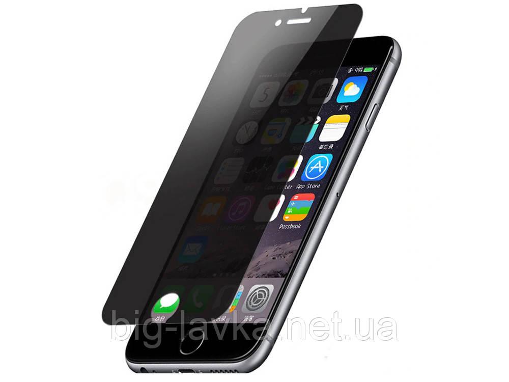 Антишпионское стекло для iPhone 7 8 Plus X X