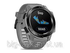 Годинник для спортсмена Zeblaze LED підсвічуванням Сірий